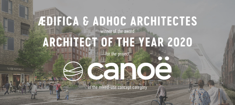 Architect of the year- Canoë